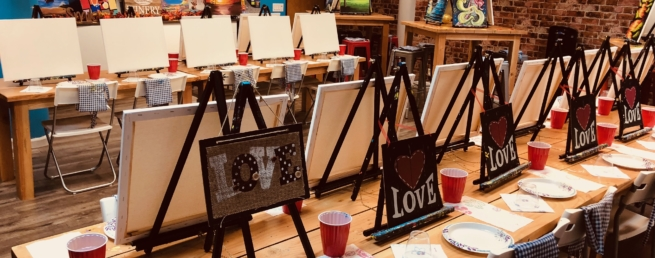 Best wine and paint classes in Bay Area
